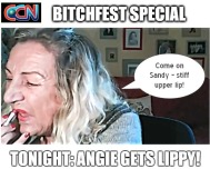 angela gets lippy