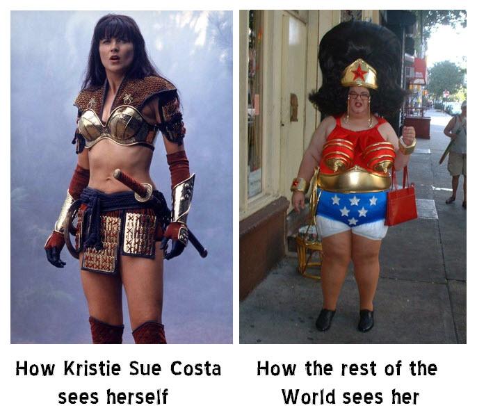 How Kristie Sue sees herself