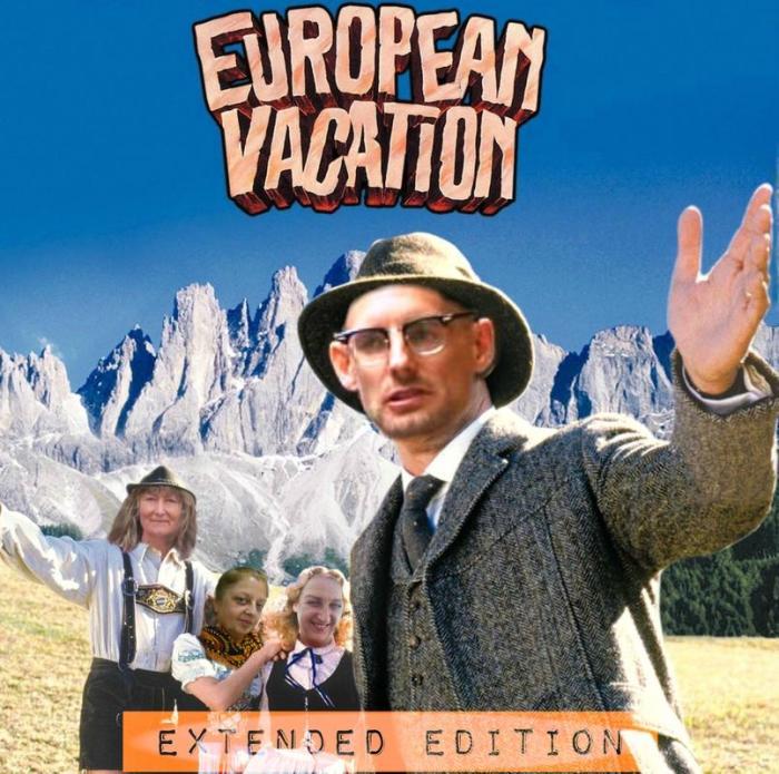 Rupert European vacation