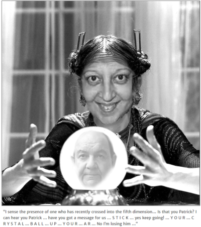 Neelu fortune teller crystal ball