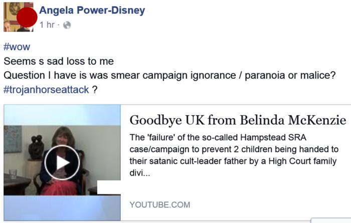 Angie re Belinda farewell 2