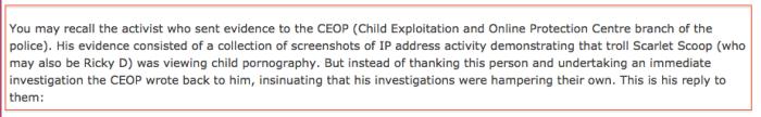 CEOP answer 1