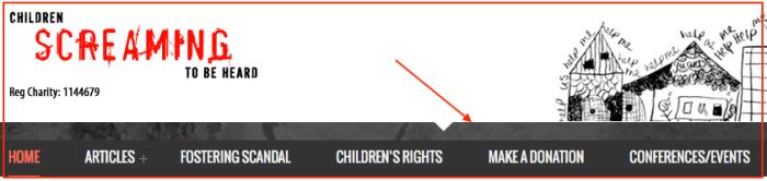 Children Screaming-donate button
