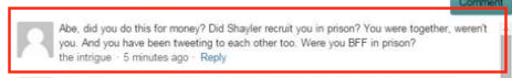 To Abe re Shayler