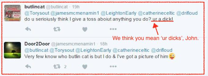 Twitter mob-Butlincat 5