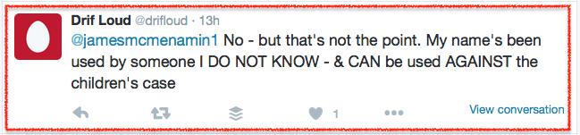 Drifloud-didn't tweet-5 2016-01-25