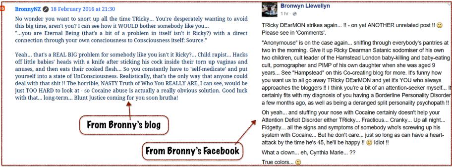 Bronny v RD-caution