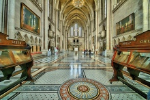 Royal Courts of Justice-interior