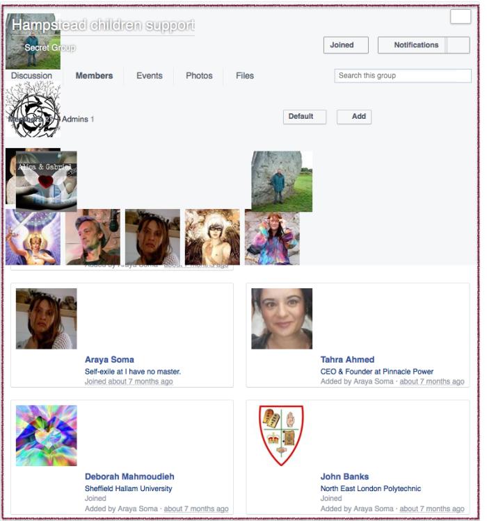 Facebook secret group 1 2016-03-05