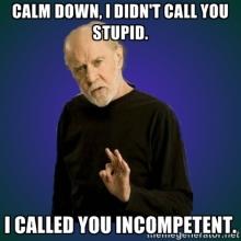 incompetent