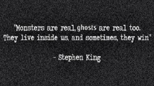Monsters live inside us