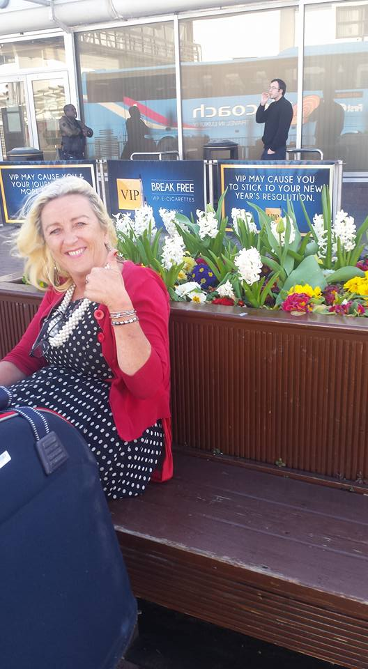 Angela at Dublin airport-2016-04-06