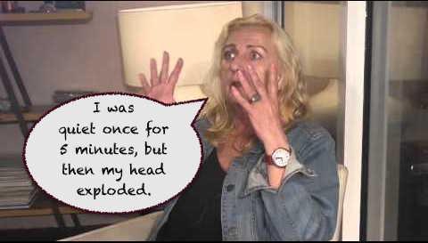 Angela Power Disney quiet once