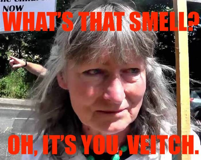Belinda smells something