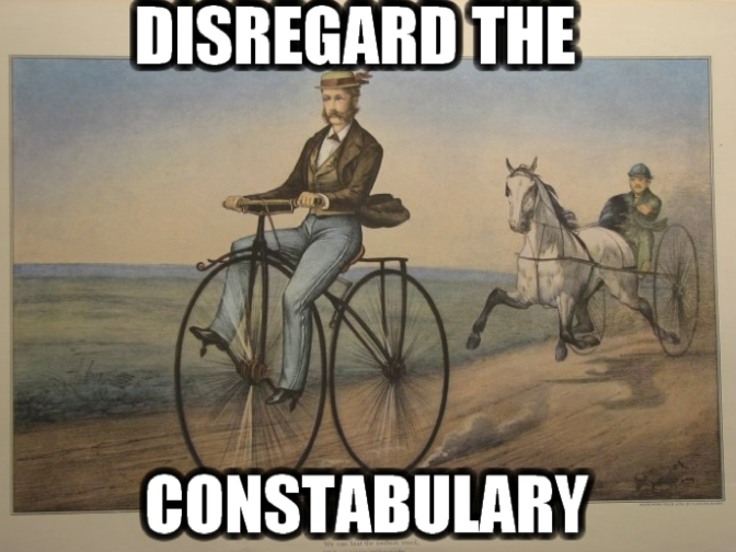 Disregard constabulary 2016-04-19