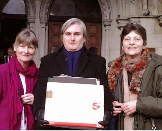 Belinda, Terence Ewing, Sabine copy