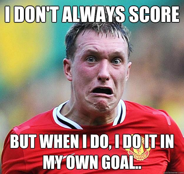 own goal-football