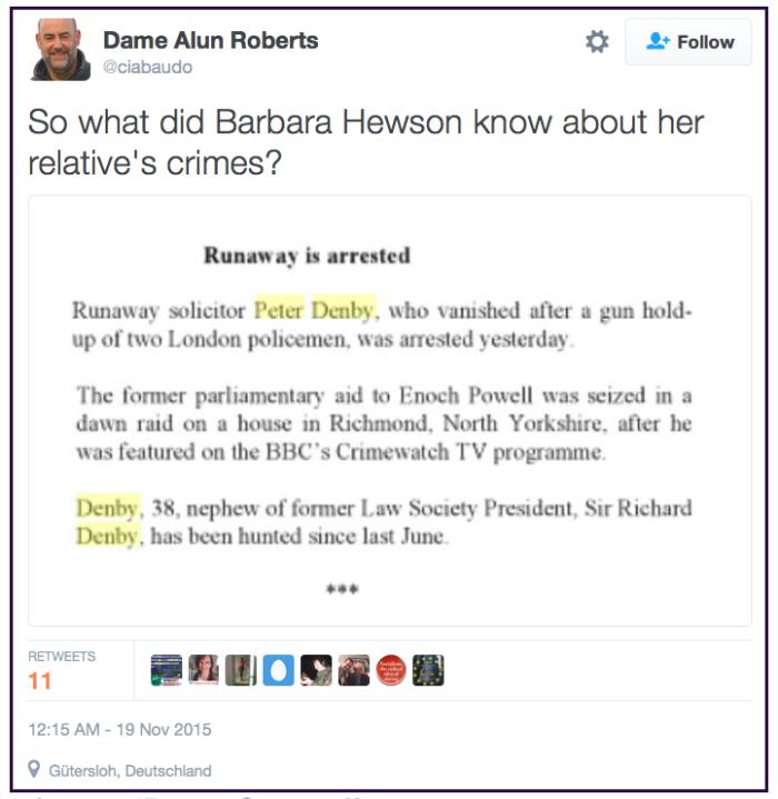 Dame Alun Roberts re Hewson 2016-05-31