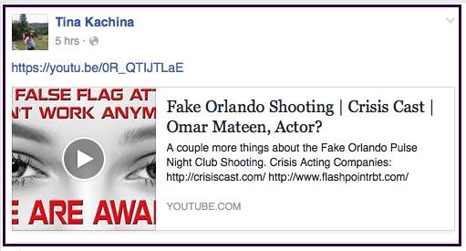 Tina Kachina Orlando false flag 2016-06-16