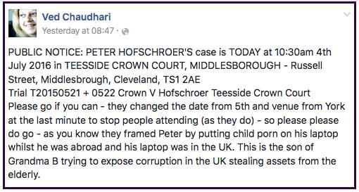 Peter Hofschroer 2016-07-05