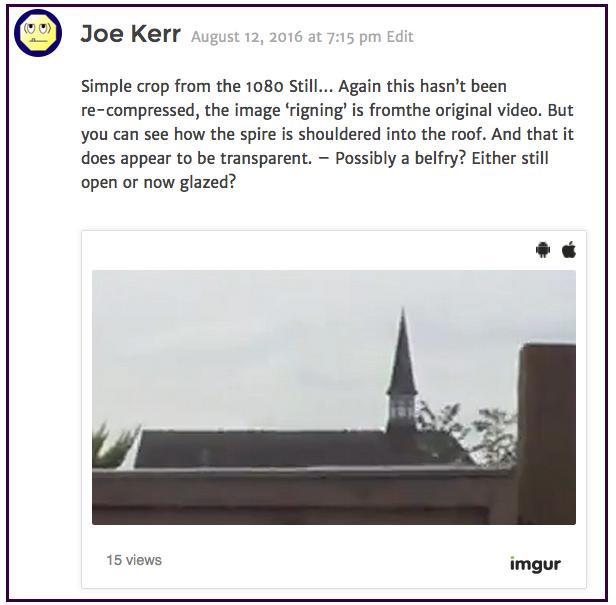 Joe Kerr church 2016-08-13