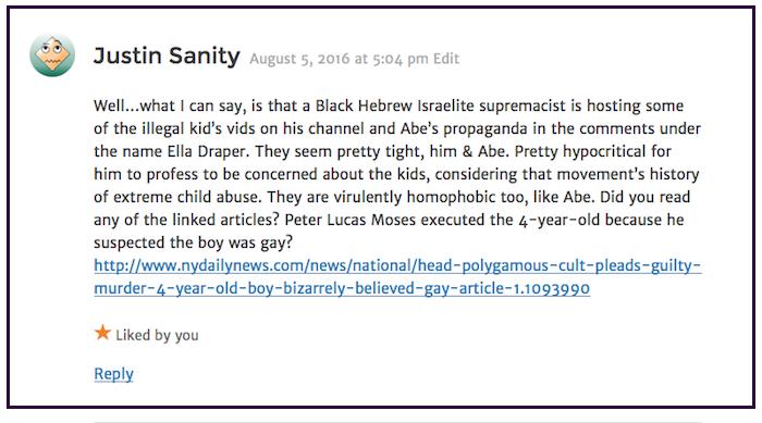 Justin Sanity-Black Hebrew Israelites 2 2016-08-06