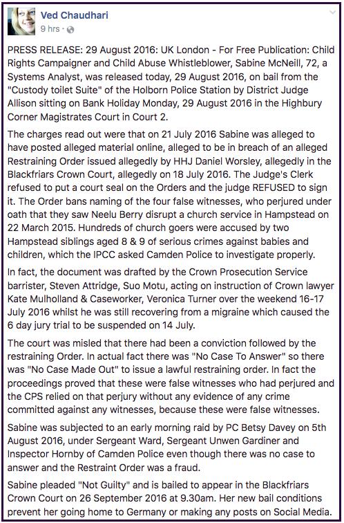Neelu-Sabine's bail 2016-08-29