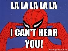 spiderman lalalala-i-cant-hear-you