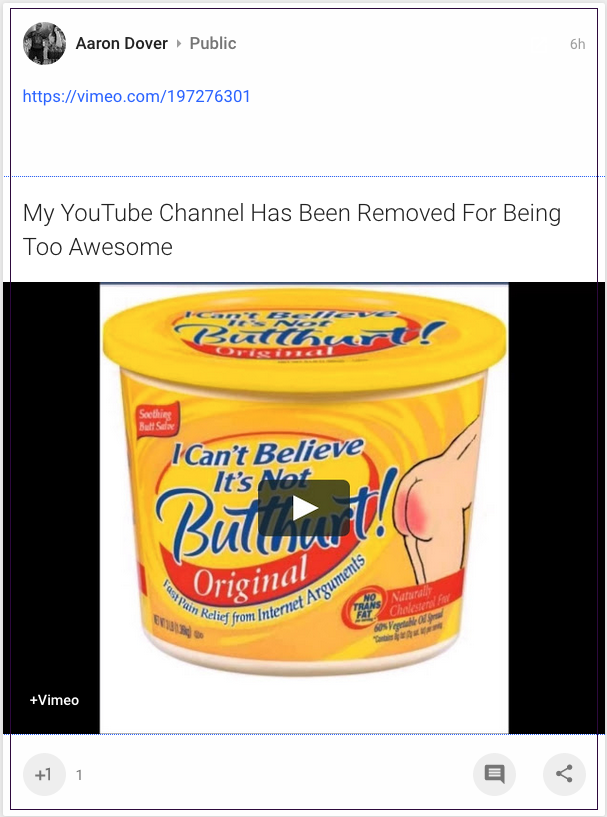 aaron-dover-google-yt-channel-removed