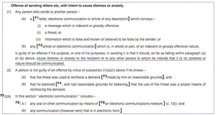 malicious-communications-act-1988