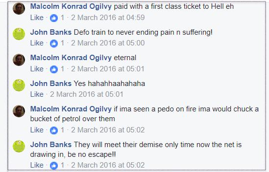 Banks-Ogilvy death threats 2