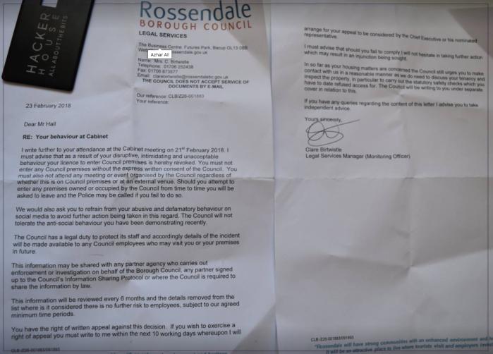 Wesley Hall Rossendale 2018-02-24