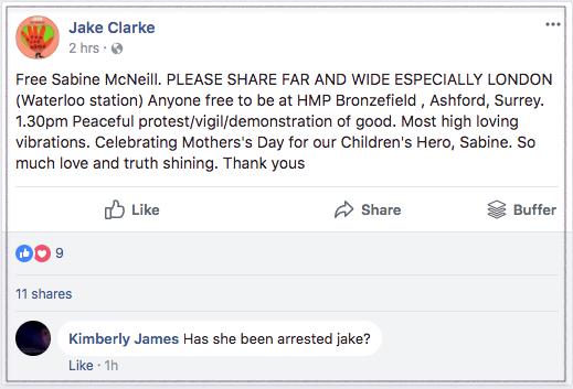 Free Sabine Jake Clarke 2018-03-10