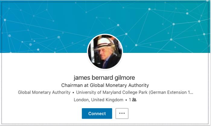 James Bernard Gilmore LinkedIn 2018-03-27