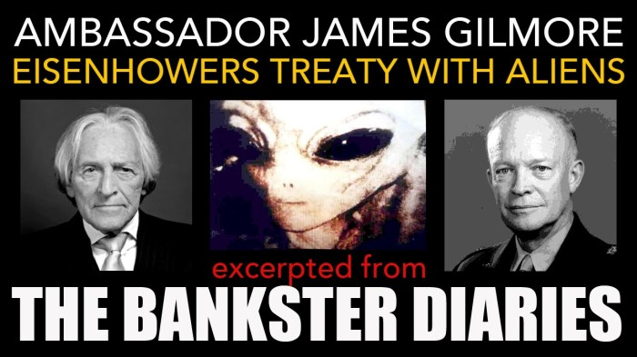 James Gilmore The Bankster Diaries with Aliens