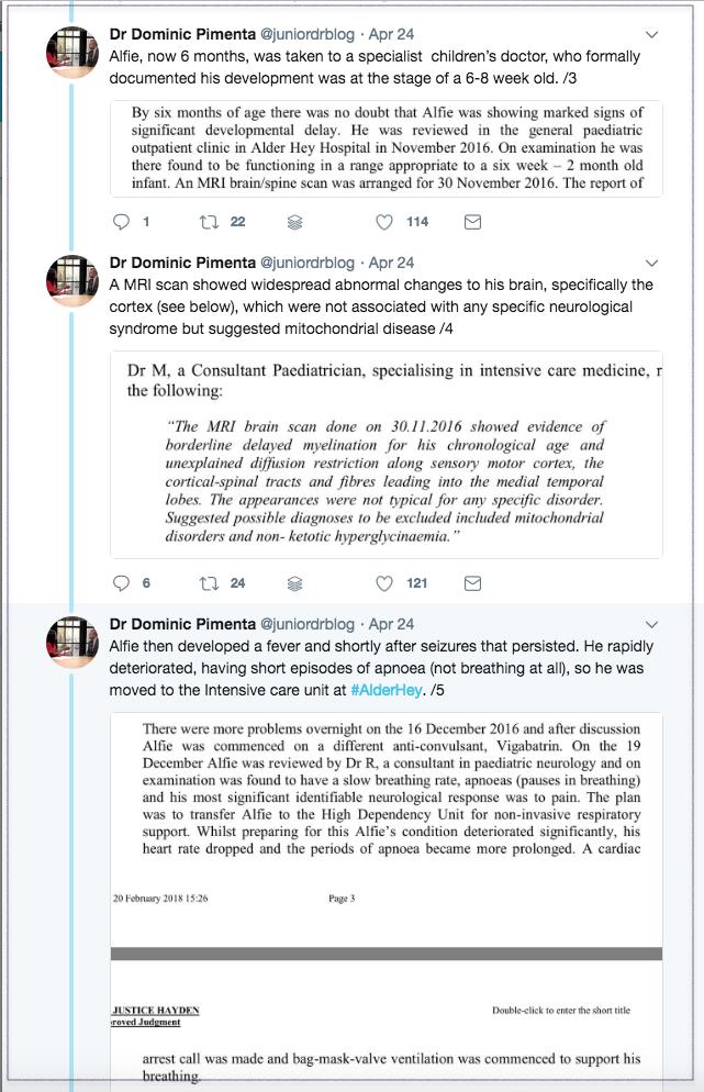 Dr Dominic Pimenta Twitter 2018-04-26 2