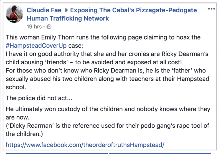Cabal Pizzagate group 2018-05-11 1
