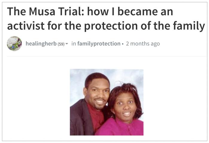 Charlotte Ward Musa trial 2018-05-16