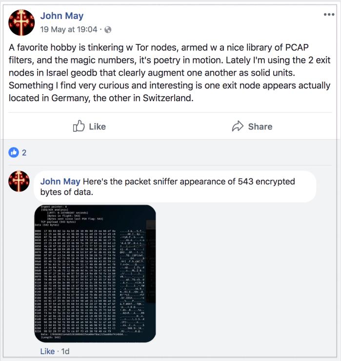 John May 2018-05-22 hacker extraordinaire