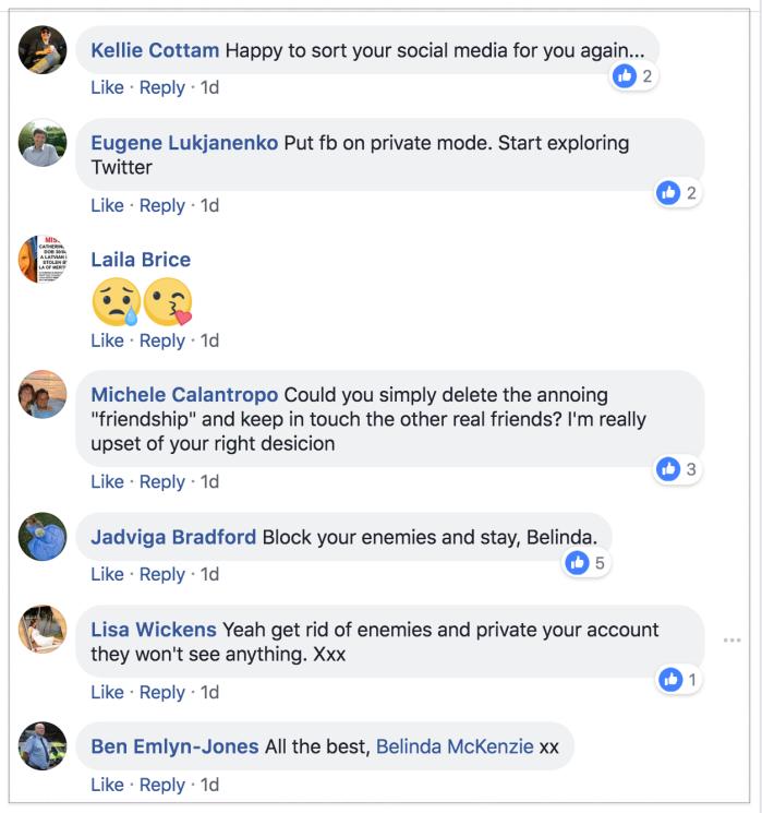Belinda Facebook 2018-06-05 2