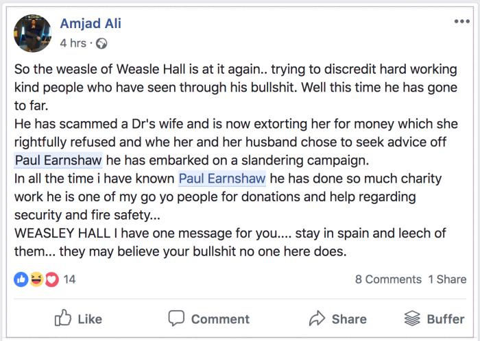 Wesley Hall 2018-09-11 Amjad Ali