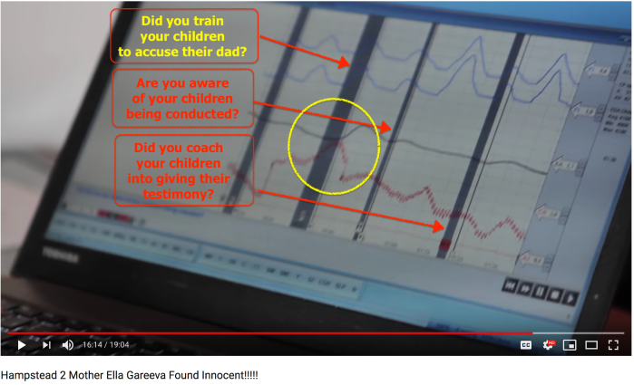 Ella Gareeva polygraph video 2018-10-05 actual answers