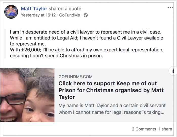 Matt Taylor 2018-10-19 Facebook 3