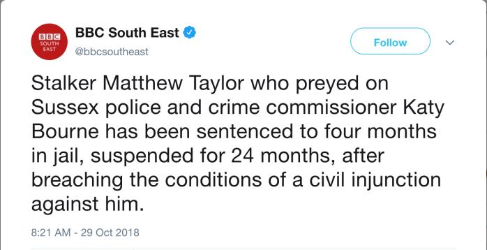Matt Taylor 2018-10-29 sentenced
