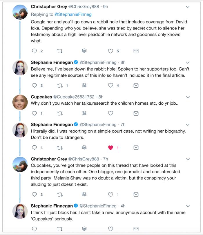 Melanie Shaw 2018-10-16 Twitter 3