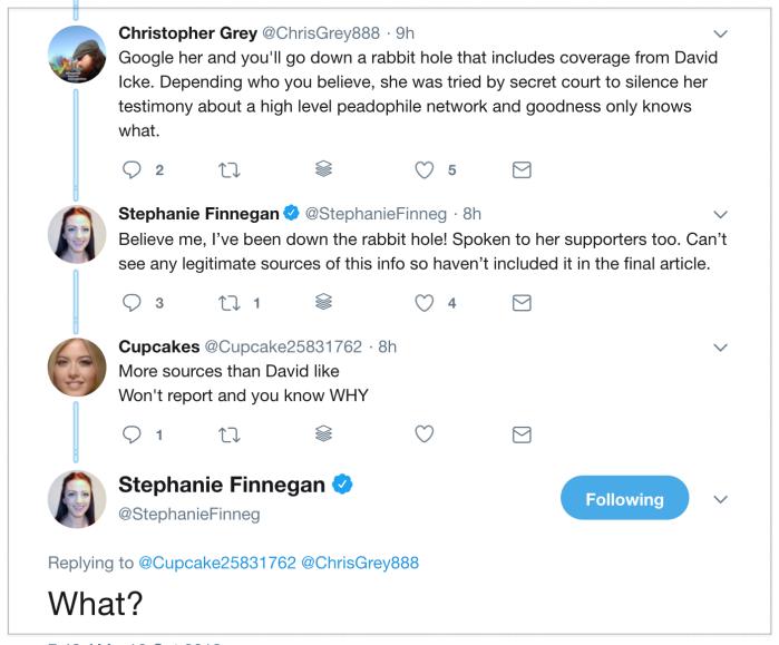 Melanie Shaw 2018-10-16 Twitter 4