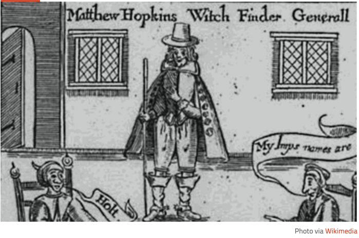 Tom Dunn 2018-10-08 Matthew Hopkins Witch Finder General