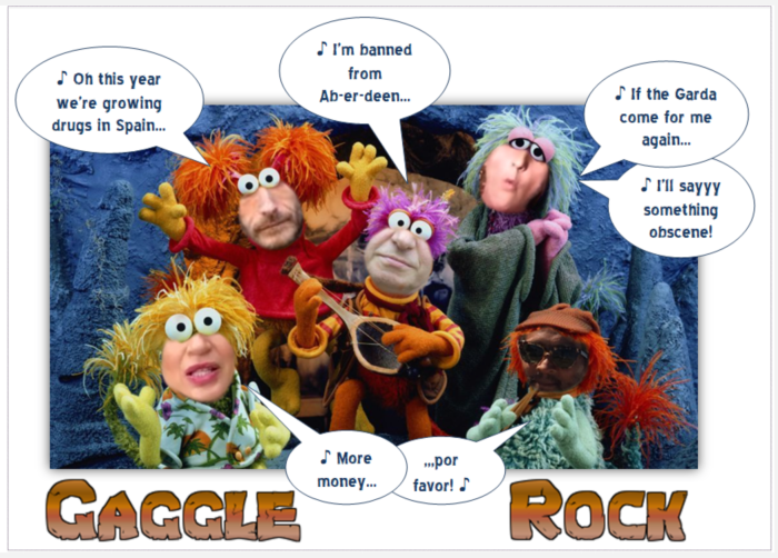 Gaggle Rock-Angela Power-Disney