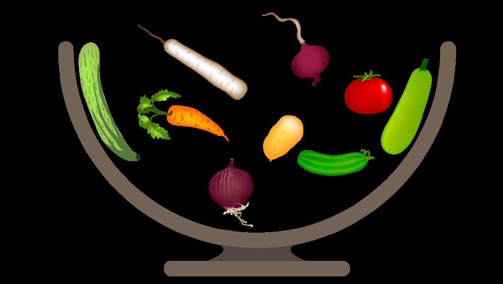 word-saldad-bowl-illustrator-graphic
